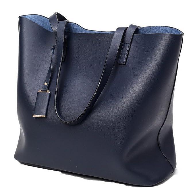 Odomolor Donna Tote-Style Tessuto Perla Tote-Borse Shopping Borse di tela 155ab8e9db8