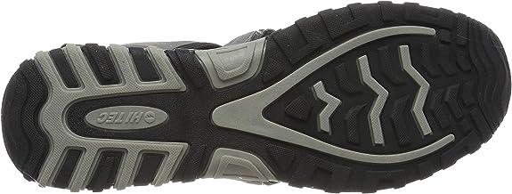 Hi-Tec Mens Cove Breeze Walking Shoes Sandals Grey Sports Outdoors Breathable