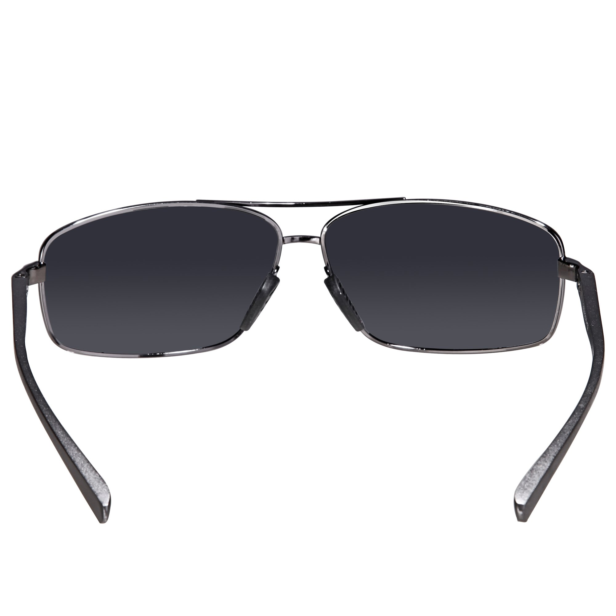 cd0c40a362 SUNGAIT Ultra Lightweight Rectangular Polarized Sunglasses 100% UV  protection