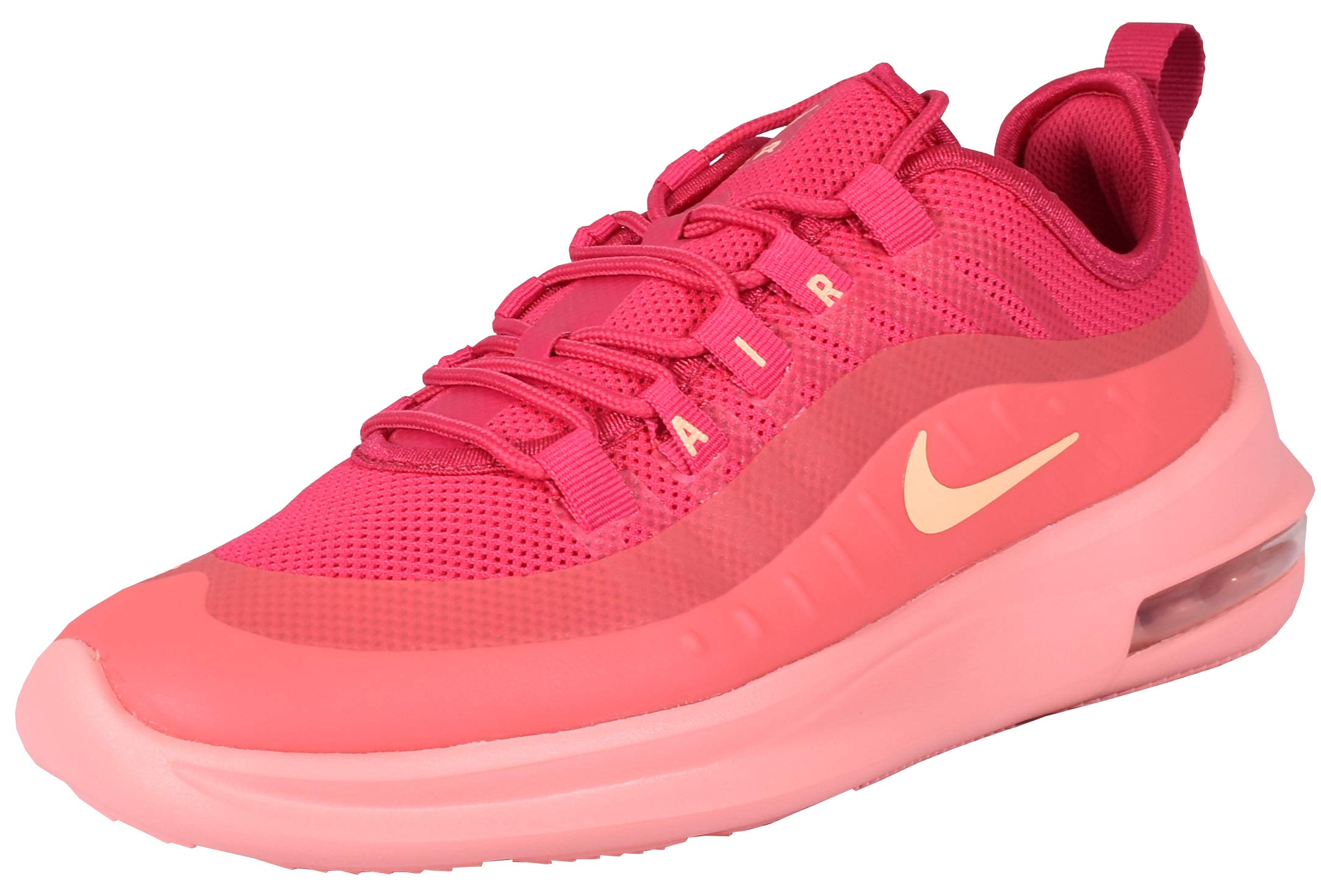 Nike Women's Air Max Axis Running Shoes. Rush Pink/Melon Tint/Bleached Coral, Size 6