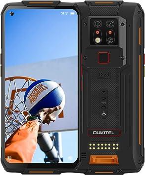 2020】 OUKITEL WP7 IP68 Móvil Libre Resistente,8GB+128GB Helio P90 Dual 4G Impermeable Smartphone, 6.53 Gorilla Glass,8000mAh Batería Telefonos Robusto,48MP Triple Cámara Rugged Móvil,NFC: Amazon.es: Electrónica