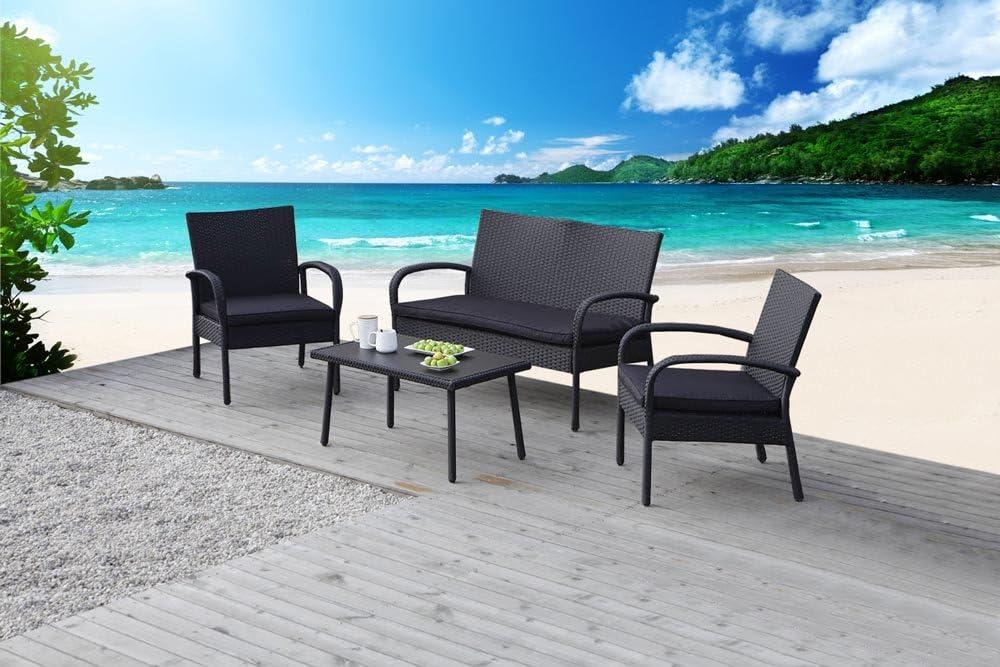 Carlota muebles muebles de jardín de, ideal para al aire libre, 4 ...