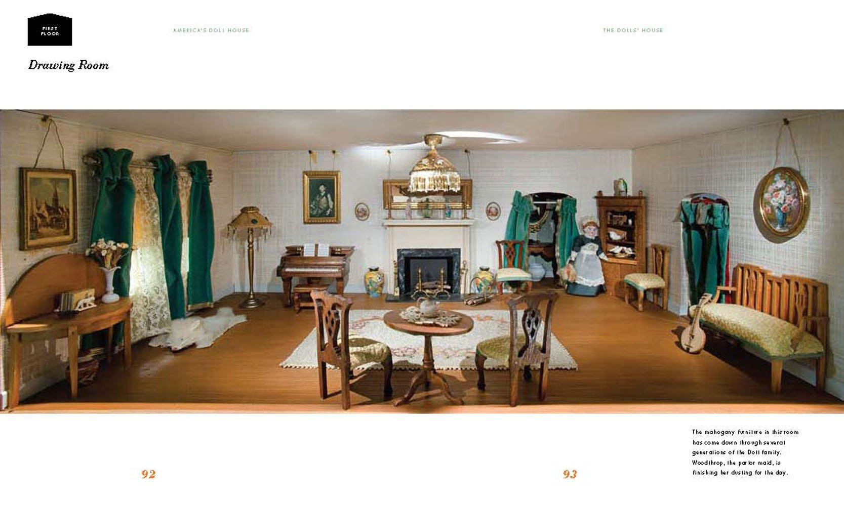 Zabawki THREE DOLLS HOUSE MINIATURE BOOKS MILLENNIUM TRILOGY Handmade 1:12th Scale