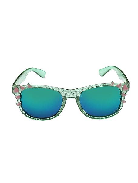70a10d3f59e Stol n Kids Green Glitter Wayfarer Sunglasses  Amazon.in  Clothing    Accessories