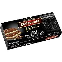 Delaviuda Turrón Tres Chocolates - 200 Gr