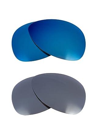 8539c5c081d Plaintiff Replacement Lenses Polarized Blue   Silver by SEEK fits OAKLEY