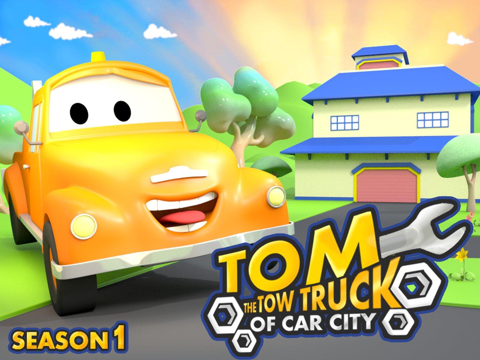 Amazon.com: Tom the Tow Truck of Car City: Malina Germanova, Charles Courcier, Edouard Desmettre, Arthur Lener