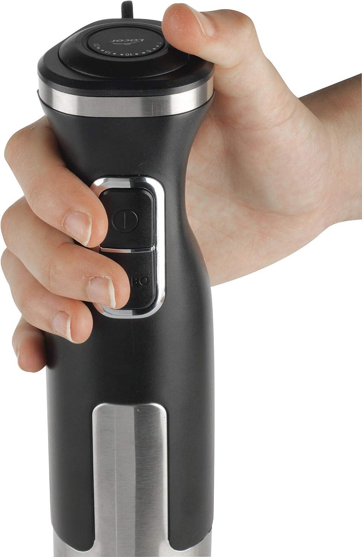 Lacor Mixeur /électrique PRO avec verre m/élangeur /à base antid/érapante Batidor varillas