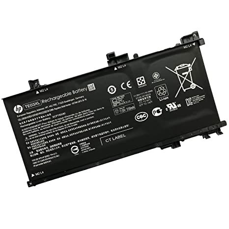 Amazon com: SANISI HP TE03XL 11 55V 61 6Wh Battery for HP