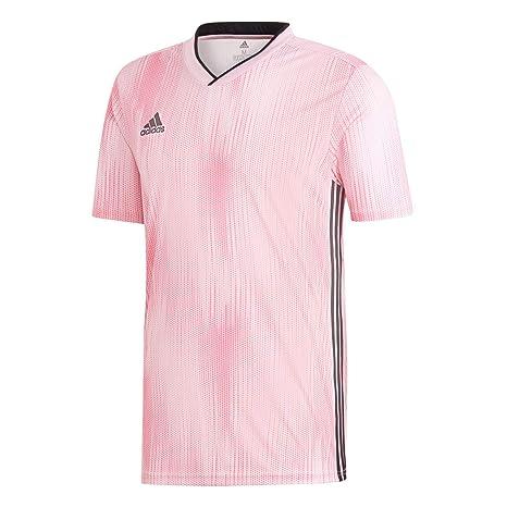 Adidas DP3540 T-Shirt, Hombre, Rosa (True Pink/Black),