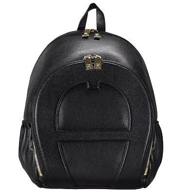 bestbewertetes Original verfügbar exklusives Sortiment Aigner Fidelio Rucksack Leder 40 cm black: Amazon.de: Schuhe ...