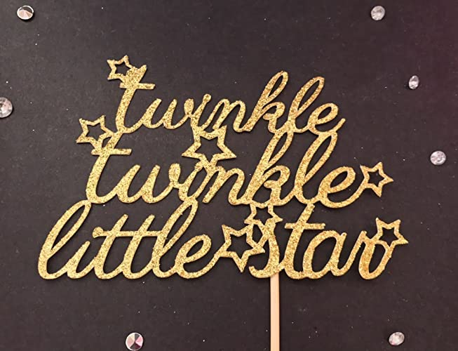 Amazon Twinkle Twinkle Little Star Cake Topper Little Star