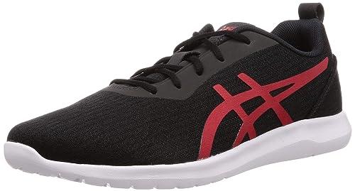 Black/Speed Red Sneakers-9 UK (44 EU