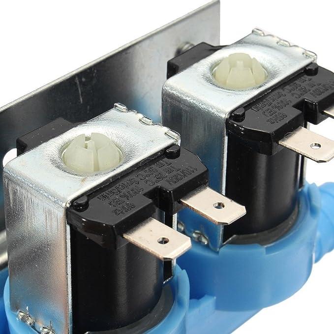MAYITOP Válvula de entrada de agua para lavadora Whirlpool Kenmore 285805 W10110517 292197: Amazon.es: Bricolaje y herramientas