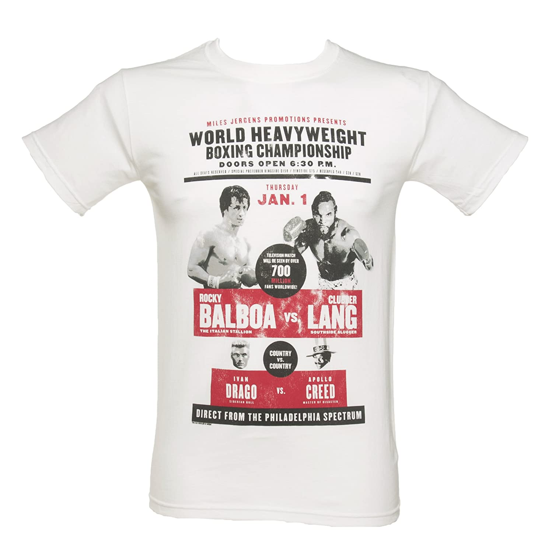 OM3 T-Shirt Balboa 5XL Rocky in Stile retr/ò S