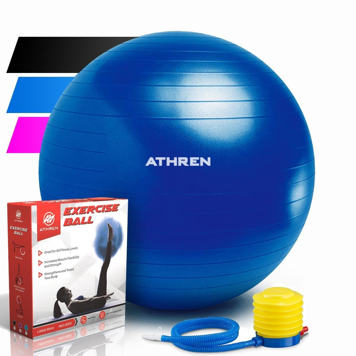 Extra Thick exercise ball