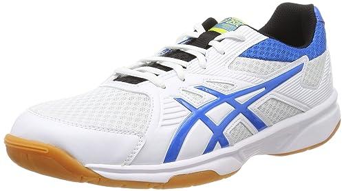 ASICS Upcourt 3 Volleyballschuhe Herren white electric blue