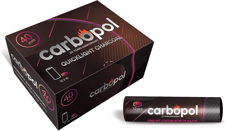carbopol autocombustible Shisha carbón–40mm en la caja