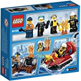 Lego 60106 - City - Jeu de construction - Ensemble de Démarrage Pompiers