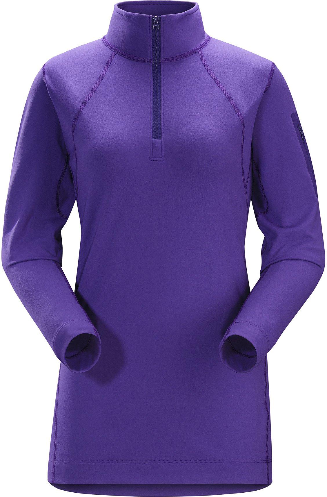 Arc'teryx Women's Rho LT Zip Neck Dahlia Shirt