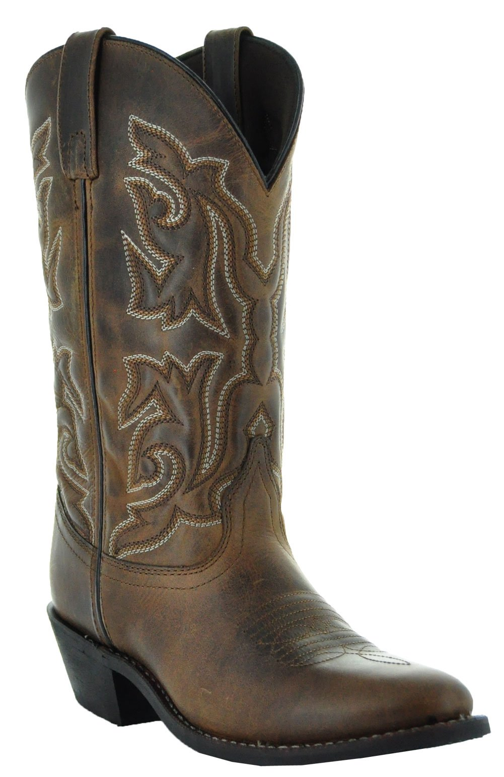 Soto Boots Monterrey Women's Cowgirl Boots by M3001 (8, Brown)