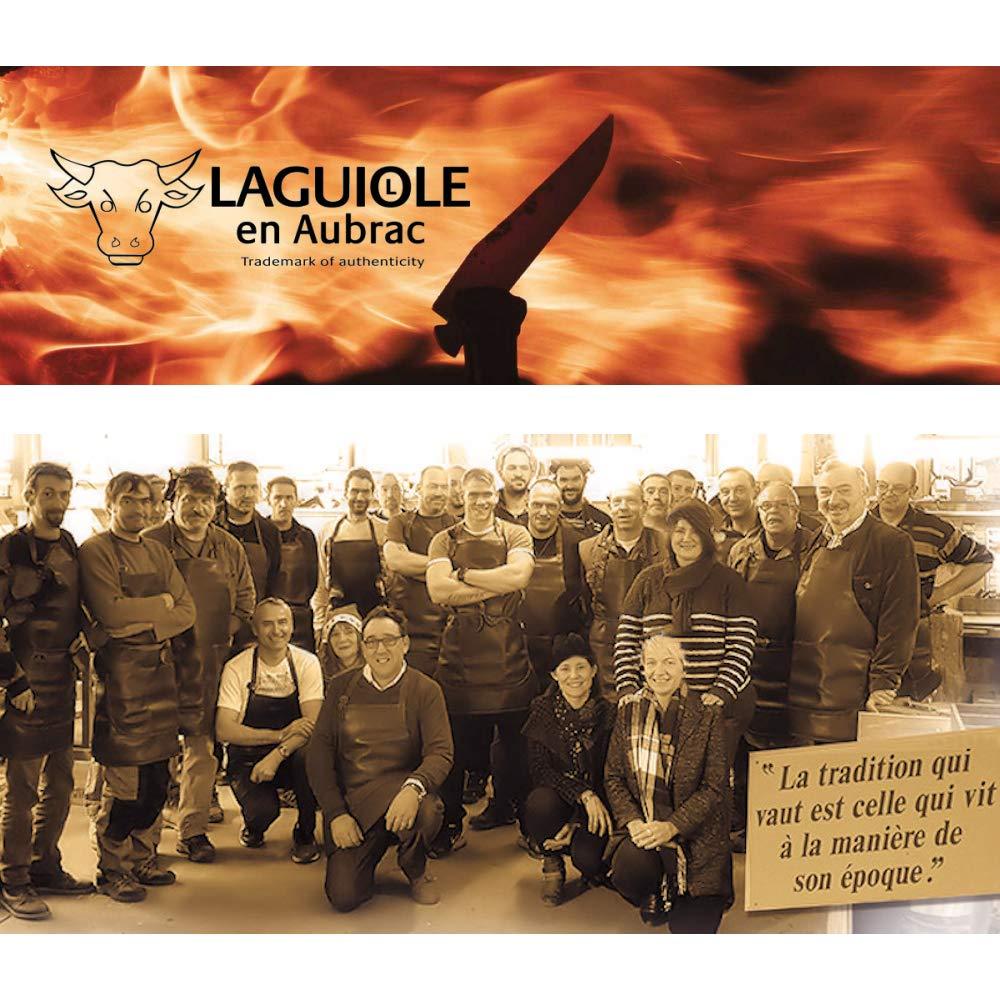 Laguiole en Aubrac® Navaja Original, madera de ébano 12 C27, acero.