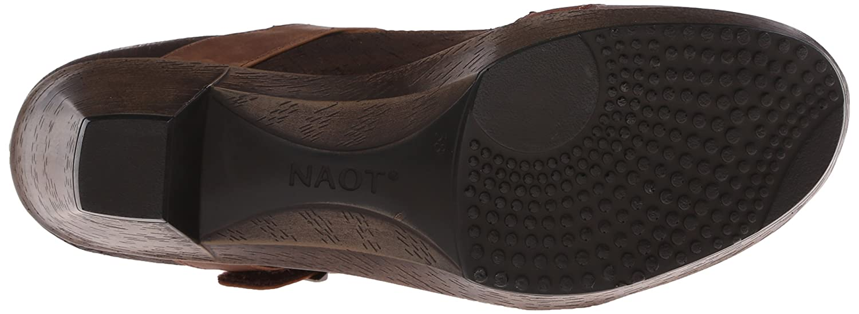 NAOT Women's Dashing Dress Pump B00TQA4AL0 39 EU/7.5-8 M US Brown Brown Haze Leather/Mine Brown Leather/Saddle Brown US Brown Leather a84b62