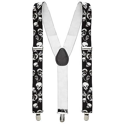seleziona per originale bambino stile attraente WIDMANN- Teschi Bretelle Teschio Accessori Costume Party E ...