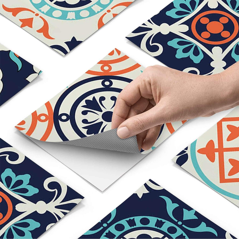 Creatisto Fliesenfolie Fliesenaufkleber Mosaikfliesen - Aufkleber Folie für für für Fliesen I Stickerfliesen - Mosaikfliesen für Küche, Bad, WC Bordüre (20x25 cm I 30 -Teilig) B07KGBDRW5 Wandtattoos & Wandbilder 373977