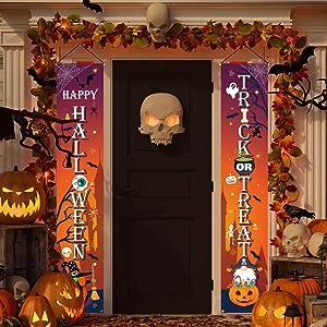 KMUYSL Halloween Decorations - Hanging Halloween Decoration for Front Door Porch - 71
