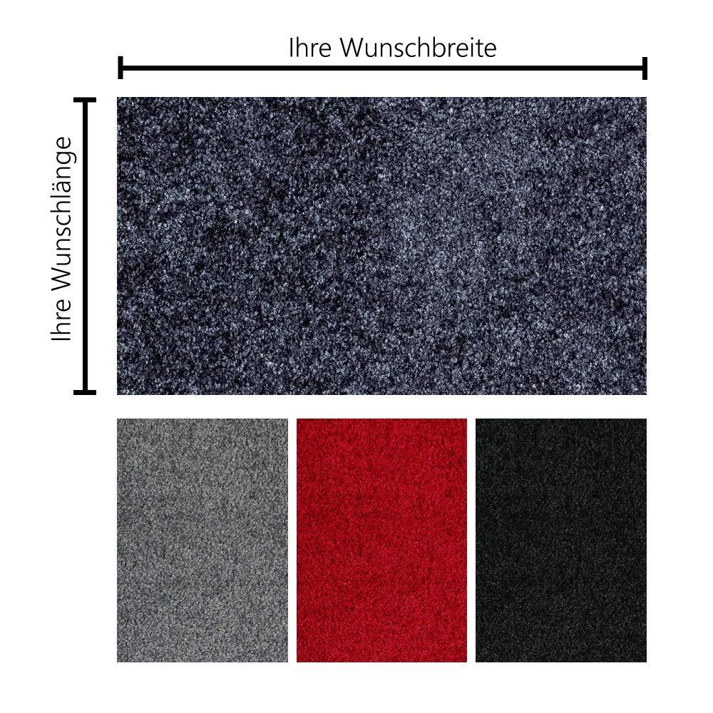 Schmutzfangmatte Schmutzfangmatte Schmutzfangmatte PT-max Uni nach Maß   Fußmatte in Wunschmaß   individuelle Größe   60-115 cm Breite, 75-400 cm Länge   ab 61,27 € (87,45 € m²)   gewählt  81-90 cm breit, 126-150 cm lang, grau B07L8X5T 8291e9