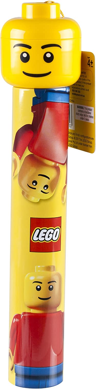 LEGO - Estuche para lápices cilíndrico con sacapuntas: Amazon.es: Juguetes y juegos