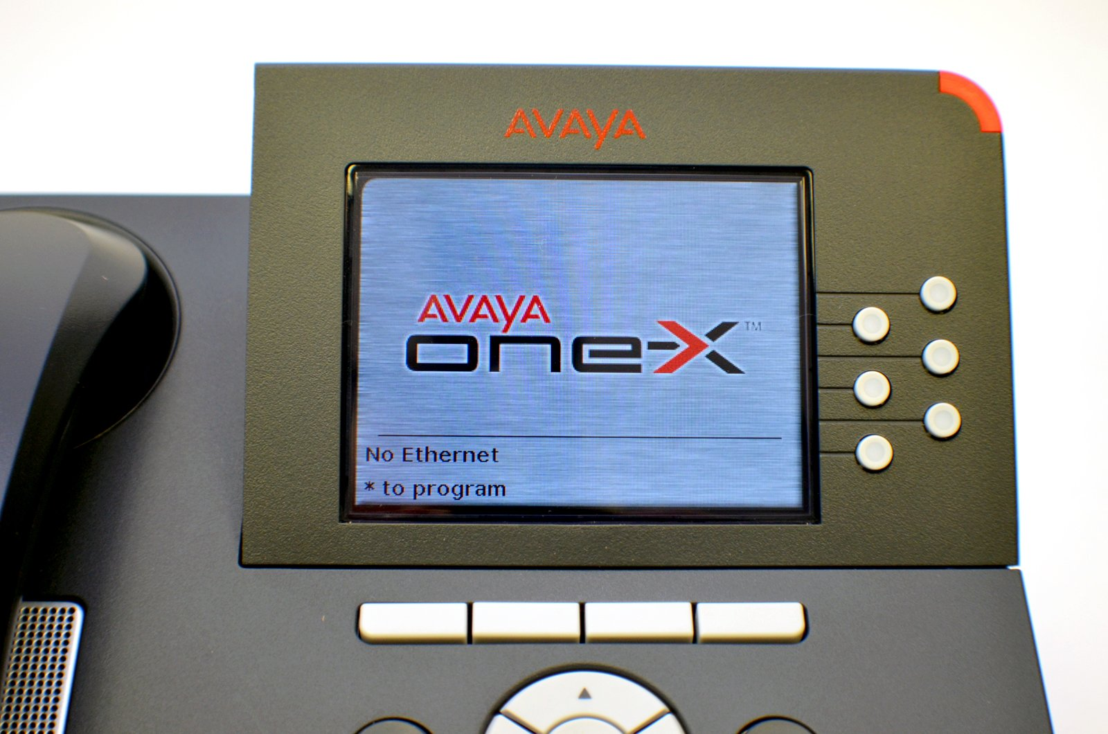 New Avaya VOIP POE IP Deskphone One-X SIP H.323 9640 Phone Telephone 700383920 9600 Series Digital Color LCD Screen Set Kit Assembly w/ Stand USB Ethernet RJ45 by Avaya (Image #6)