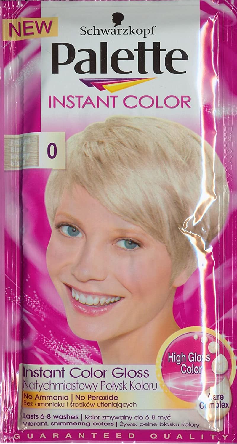 Palette Instant Color Frosted Blonde Dye Hair Gel 25ml