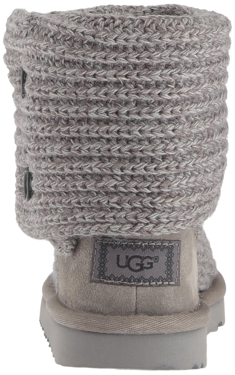 UGG Girls K Cardy II Pull-on Boot, Grey, 13 M US Little Kid by UGG (Image #2)