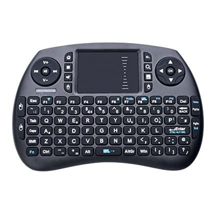 0df1646da81 Quimat 2.4GHz Wireless Keyboard with Touchpad Mouse, Mini Touchpad  Rechargeable Combos for Raspberry Pi