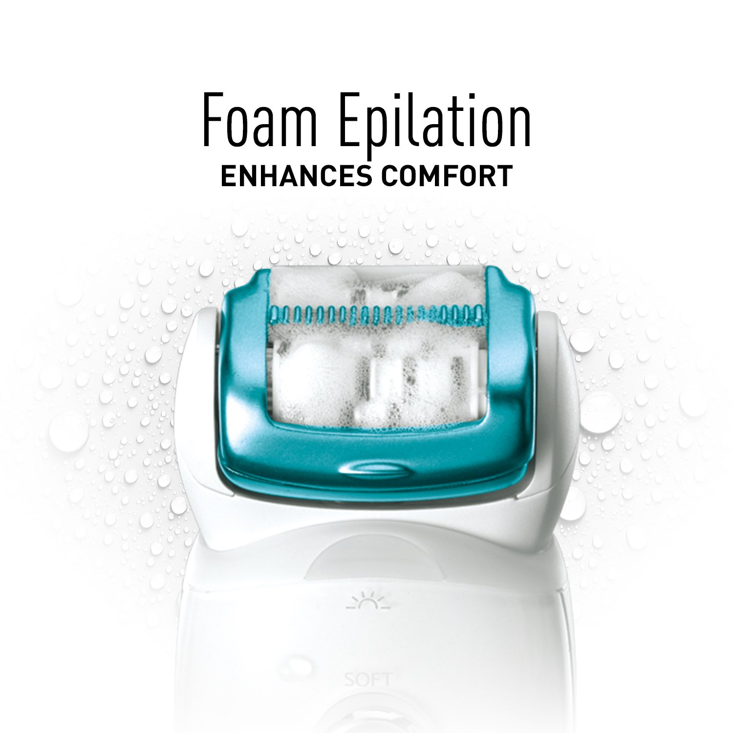 Panasonic ES-ED70-G Multi-Functional Wet/Dry Shaver and Epilator for Women, with Five Hair Removal Attachments and Travel Pouch by Panasonic (Image #6)