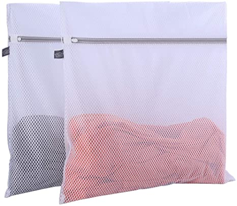White GESWGrtE of7 Mesh Laundry Bags