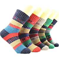 Blisfille Calcetines 5 Pares Calcetines Medias Colores Calcetines