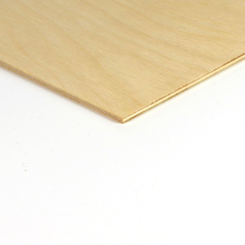 Qualit/ät B//BB IF20 4mm Birkensperrholz Platte 42x30 cm A3