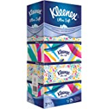 Kleenex Ultra Soft Facial Tissue, 3 PLY, Floral, 100ct (Pack of 5)
