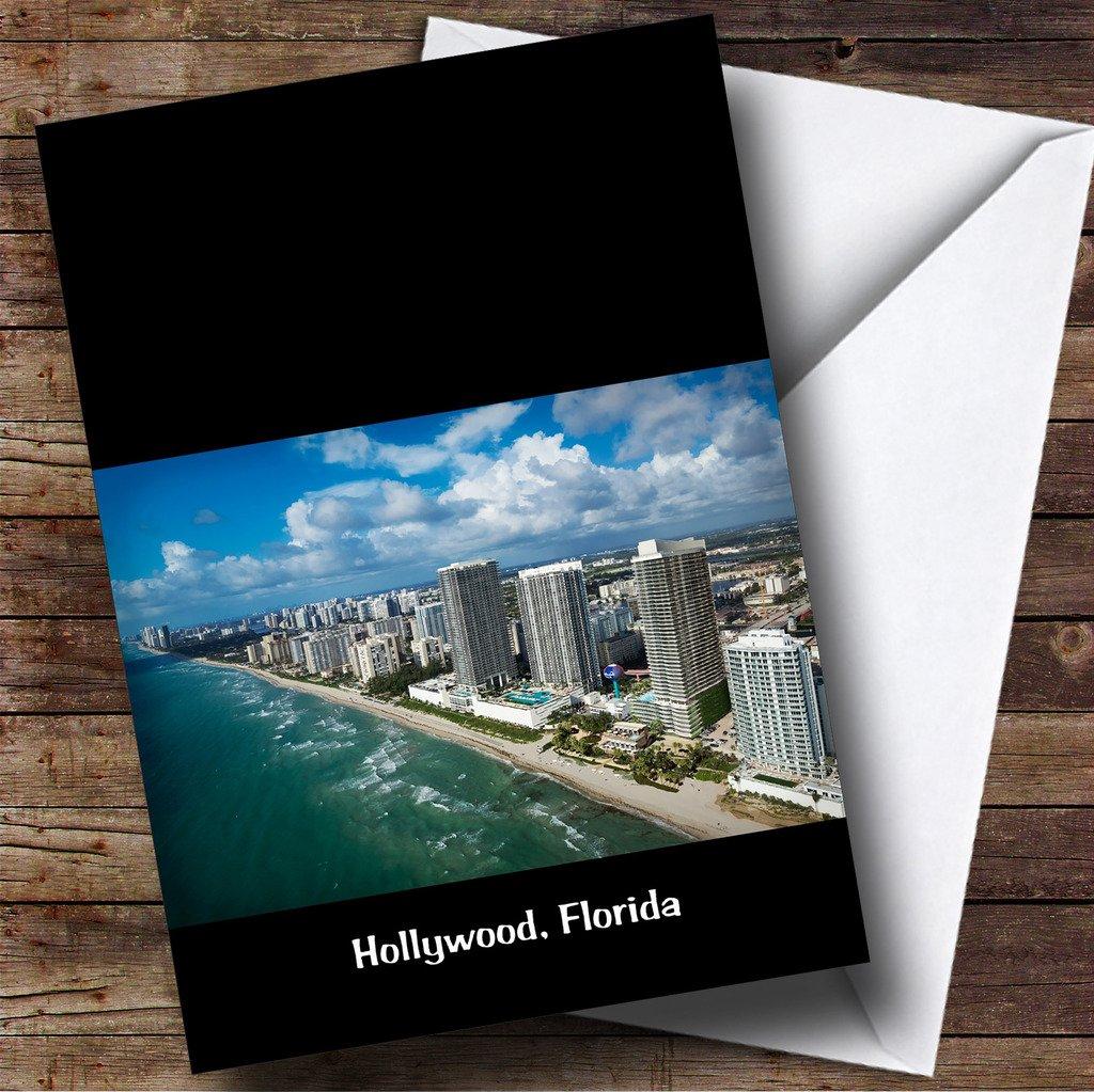Hollywood, Florida personalizado cumpleaños tarjeta de ...