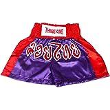 Shorts de boxe Muay Thai pour enfant Slip de Kick Boxing en Satin Taille 2XS-M par Lofbaz