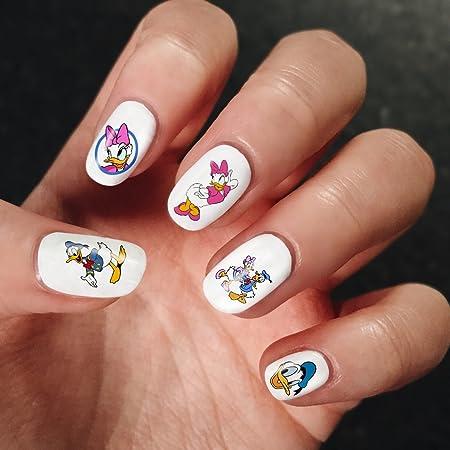 Nail Art Full Decals Goofy Mickey Mouse Donald Duck Walt Disney