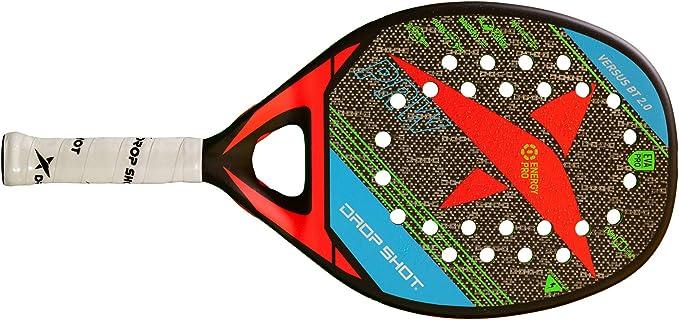 Drop Shot Versus BT 2.0 Professional Beach Tennis Paddle (2019 Model)