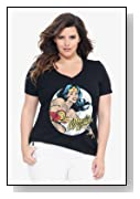 Wonder Woman V-Neck Tee