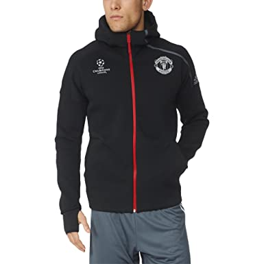 acbf2c3200d adidas Men s Manchester United FC Anthem Z.N.E Jacket  Amazon.ca ...