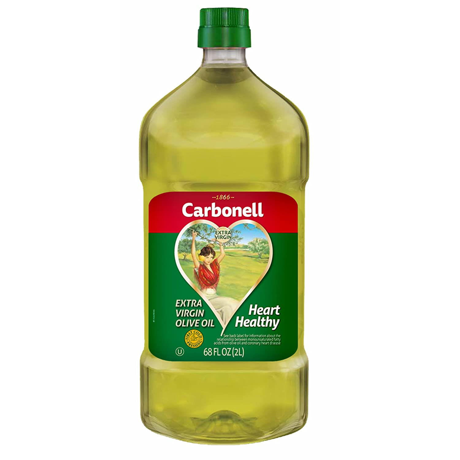 Amazon com : Carbonell Extra Virgin Olive Oil - 68 oz (2 PACK) by