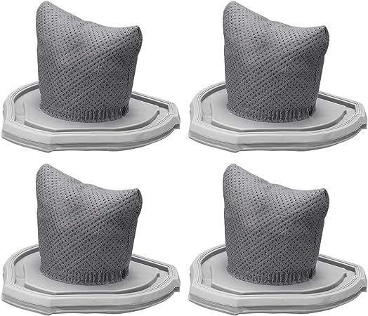 Holife 4Psc Filtros lavables para para Aspiradora HMHM164AWEU, Filtros Lavables para Aspirador de mano Sin Cable: Amazon.es: Hogar