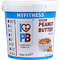 MYFITNESS Peanut Butter Smooth 1250g